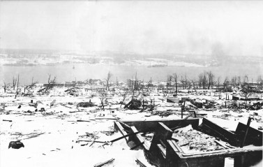 The Great Halifax Explosion | SOURCE: Nova Scotia Archives and Records Management