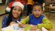 Lyons Township High School invites kids in grades K through 3 to its annual Write Night, where children can write letters to Santa on computers and receive immediate responses from the North Pole.
