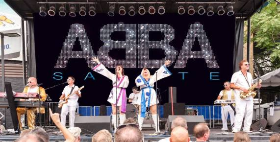 """Theatre of Western Springs, 4384 Hampton Ave., hosts ABBA Salute, billed as """"the most accurate ABBA tribute band in the country,"""" for a special performance on Saturday, Dec. 15 at 8 p.m."""