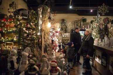 Attendees are encouraged to shop local during the event on Dec. 7, during the 44th annual Chamber of Commerce Holiday Stroll in downtown Riverside. | Alexa Rogals/Staff Photographer
