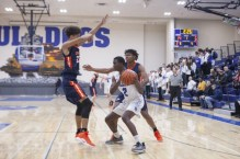 RBHS swingman Charles Terry is an extremely versatile player who scores, rebounds and defends well for the Bulldogs. (Alexa Rogals/Staff Photographer)