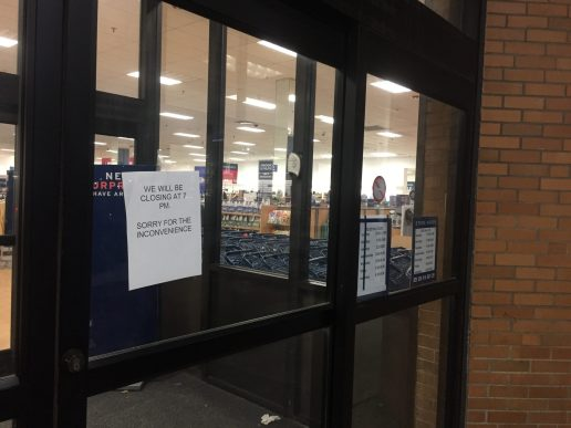 As juveniles moved east after North Riverside Park Mall closed its doors on Dec. 29, several stores closed at nearby shopping centers, such as Marshall's (above) at the Cermak Plaza in Berwyn. (Bob Uphues|Staff)
