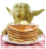 St. Louise de Marillac School, 1125 Harrison Ave. in LaGrange Park, hosts a Star Wars Pancake Breakfast - a traditional pancake breakfast with a Star Wars theme - on Sunday, Jan. 27 from 8 to 11 a.m.