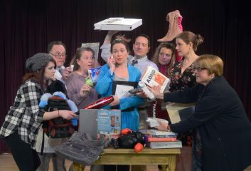 """Theatre of Western Springs presents its second Forum show of the season with """"Distracted"""" by Lisa Loomer and directed by Amy V. Fenton."""
