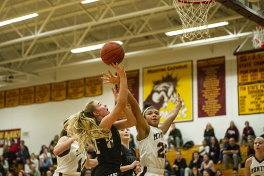 Fenwick's Audrey Hinrich has been an excellent addition to the varsity roster this season as a difference-making freshman. (Alexa Rogals/Staff Photographer)