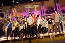"The Riverside-Brookfield High School Theater Department presents the Disney-inspired musical ""Newsies"" on Feb. 28, March 1 and March 2 at 7 p.m. and on March 3 at 2 p.m. in the auditorium of the school, 160 Ridgewood Road in Riverside."