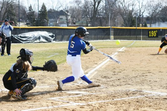 RBHS third baseman Lauren Lambros is a returning all-conference player who hit .425 with a .531 on-base percentage. (File photo)