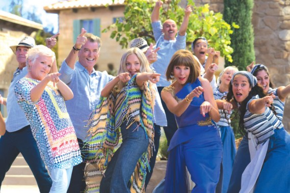 """North Riverside Public Library, 2400 Desplaines Ave., continues its Wednesday Movie Matinee Series with the 2018 musical """"Mamma Mia! Here We Go Again"""" starring an all-star cast including Meryl Streep, Cher and Colin Firth on Wednesday, April 3 at 2 p.m."""