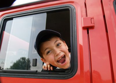 North Riverside Parks and Rec invites kids to get in the driver's seat of the coolest, biggest vehicles in the area at a Transportation Exploration Day on Thursday, April 25 from 4 to 6 p.m. in the parking lot of the North Riverside Police Department, 2359 Desplaines Ave.
