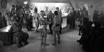 Calling all Star Wars fans! On Saturday, May 4 from 4 to 5:30 p.m. come to the lower-level recreation room of the Brookfield Village Hall, 8820 Brookfield Ave., which will be transformed into the Mos Eisley Cantina, known for its drinks (juice and water), hot tunes and occasional outbreaks of shocking extraterrestrial good times.