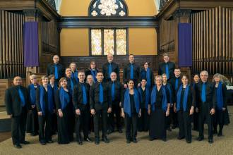 """Lux Cantorum, Chicago's premier sacred choral music ensemble presents """"Choral Mosaic,"""" featuring Thai Buddhist chants, African-American spirituals and works commissioned for royalty, both modern and bygone, on Sunday, May 5 at 4 p.m. at Sts. Peter and Paul Lutheran Church, 250 Woodside Road in Riverside."""