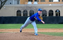 Lyons Township senior Grant Leader is one the best pitchers in the state. He will play college baseball at Illinois next season.