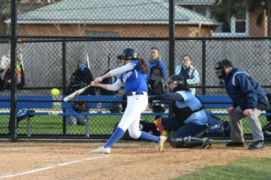 RBHS junior catcher Emily Noel had a .431 batting average, 12 home runs and 50 RBIs this season. (Photo by Toan Ngo)