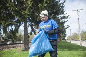 Project NICE, the fall clean-up event in Brookfield, will be held Oct. 5 from 8 a.m. to noon.