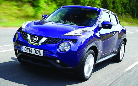 Also missing is Erica Thompson's 2017 purple Nissan Juke, an example of which is shown above.