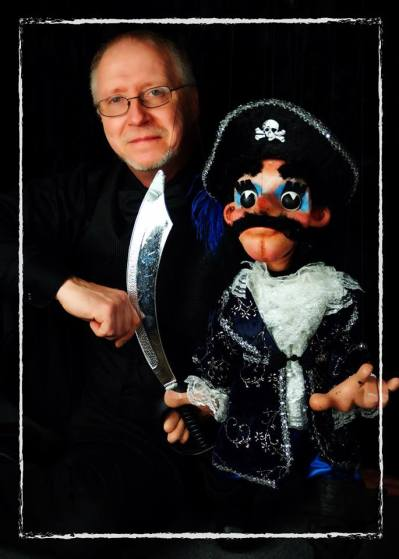 Dave Herzog and his marionettes come to North Riverside Public Library on Oct. 23.