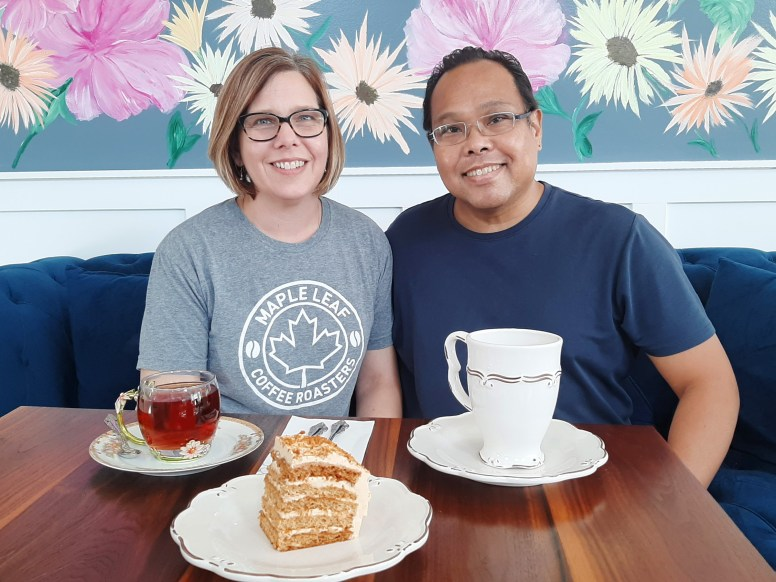 Teri and Charlie Mortel of Cafe Tere focus on the sweet snippets of their life that led them to caf? ownership after overcoming serious obstacles along the way. (Melissa Elsmo/Food Editor)