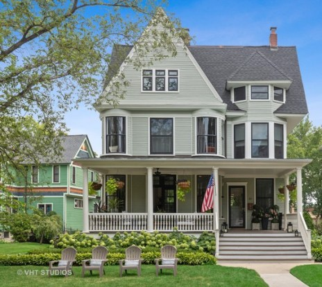This restored 1889 Victorian home at 945 Longcommon Road in Riverside is listed at 75,000. (PROVIDED)