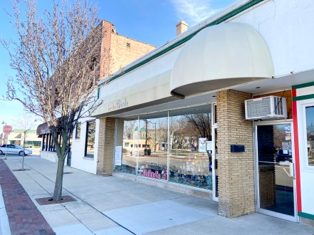 A plan is on the books to convert the storefront housing For the Birds into a boutique event space that will also feature an espresso bar. (Bob Uphues/Editor)