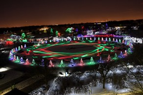 The final week of the 39th Annual Holiday Magic at Brookfield Zoo runs Dec. 26 to 31, from 3 to 9 p.m.