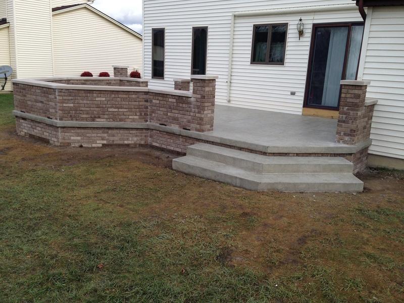 stamped concrete driveways patios