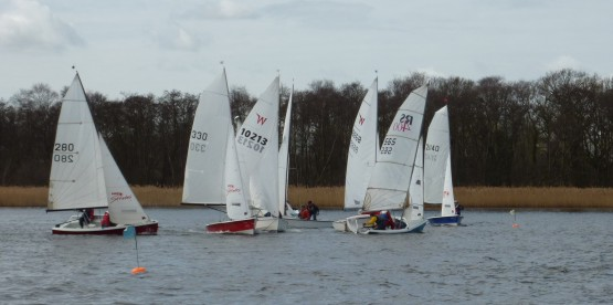 Start of second race 13/3/2010