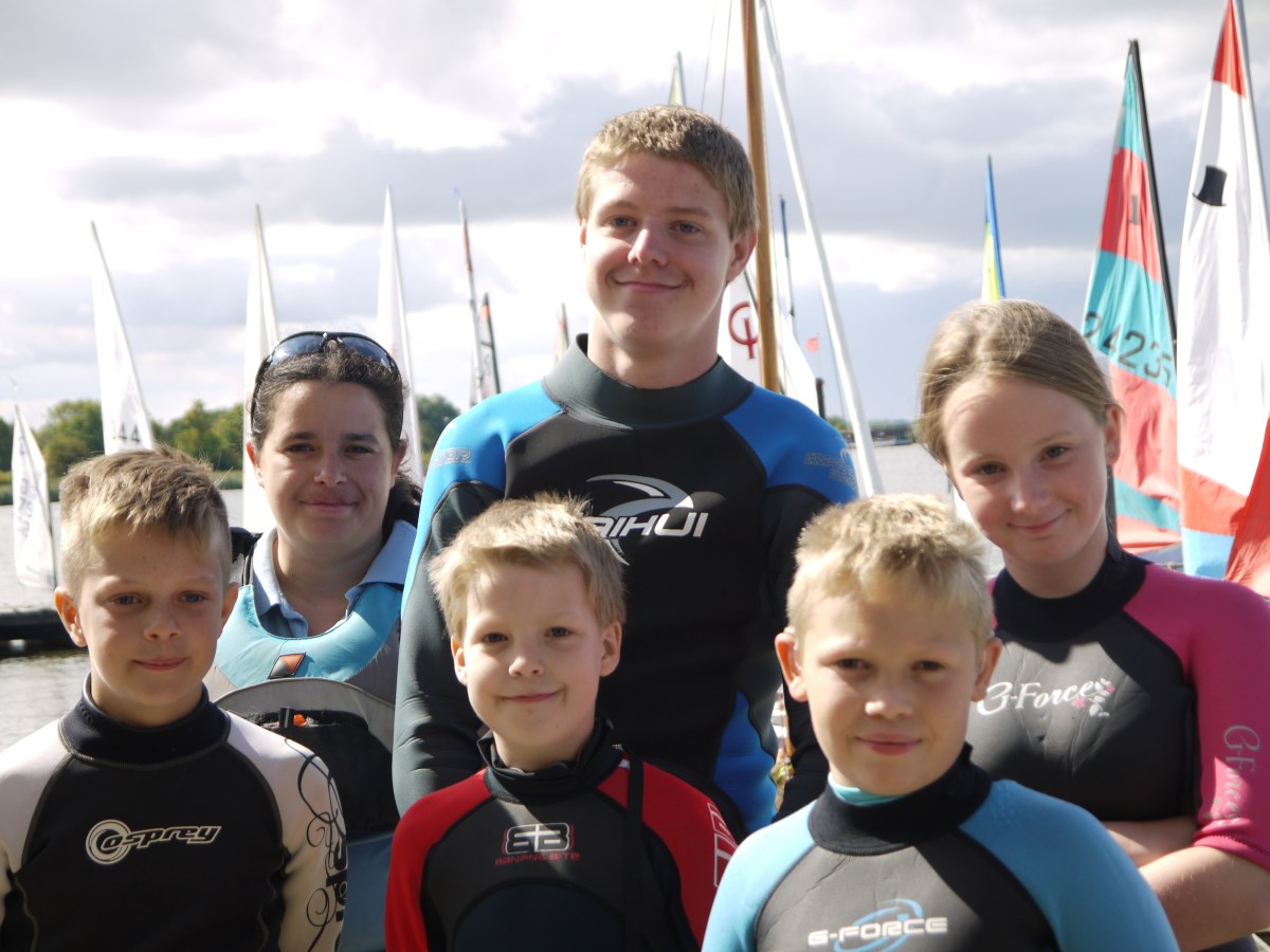 RBSC Attend Broadland Youth Regatta