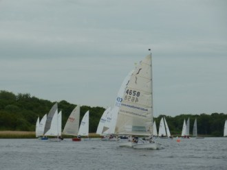 Solos on the downwind leg