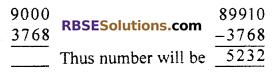 RBSE Solutions for Class 7 Maths Chapter 6 Vedic Mathematics Ex 6.2