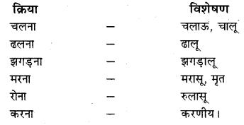 RBSE Class 10 Hindi व्याकरण विशेषण - 17
