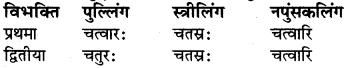 RBSE Class 6 Sanskrit व्याकरण संख्या रूप प्रकरणम् 7