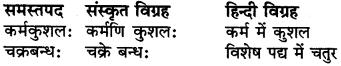 RBSE Class 6 Sanskrit व्याकरण समास 7