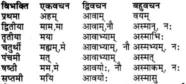 RBSE Class 7 Sanskrit व्याकरण शब्द रूप प्रकरणम् 25