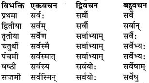 RBSE Class 9 Sanskrit व्याकरण रूप-प्रकरणम् 32