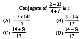 RBSE Solutions for Class 11 Maths Chapter 5 Complex Numbers Miscellaneous Exercise 4