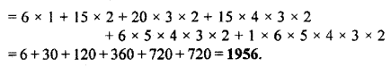 RBSE Solutions for Class 11 Maths Chapter 6 Permutations and Combinations Ex 6.2 10