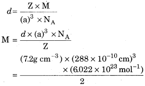 RBSE Solutions for Class 12 Chemistry Chapter 1 Solid State image 10