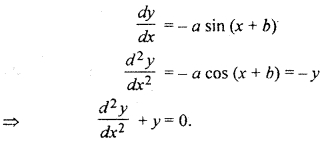 RBSE Solutions for Class 12 Maths Chapter 12 Differential Equation Ex 12.2