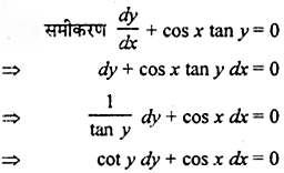 Rajasthan Board RBSE Class 12 Maths Chapter 12 अवकल समीकरण Miscellaneous Exercise