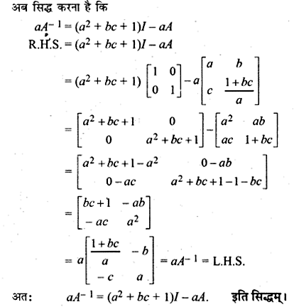 RBSE Solutions for Class 12 Maths Chapter 5 Additional Questions 57