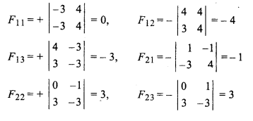 RBSE Solutions for Class 12 Maths Chapter 5 Inverse of a Matrix and Linear Equations