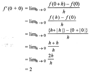 RBSE Solutions for Class 12 Maths Chapter 6 Additional Questions 10