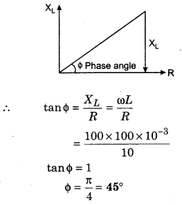 RBSE Solutions for Class 12 Physics Chapter 10 Alternating Current 38