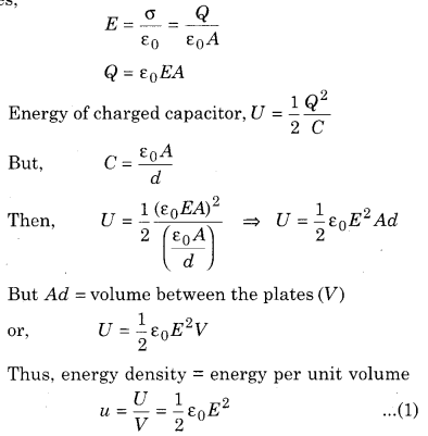 RBSE Solutions for Class 12 Physics Chapter 4 Electrical Capacitance 52