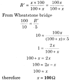 RBSE Solutions for Class 12 Physics Chapter 6 Electric Circuit 54