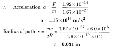 RBSE Solutions for Class 12 Physics Chapter 7 Magnetic Effects of Electric Current 58
