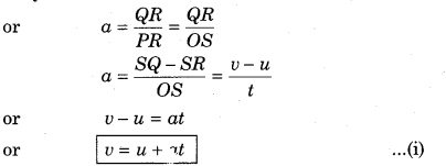 RBSE Solutions for Class 11 Physics Chapter 3 Kinematics 13