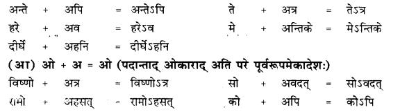 RBSE Class 10 Sanskrit व्याकरणम् सन्धिः image 9