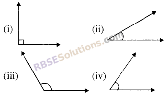 RBSE Solutions for Class 5 Maths Chapter 16 ज्यामिति Additional Questions