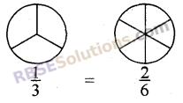 RBSE Solutions for Class 5 Maths Chapter 7 तुल्य भिन्न Additional Questions